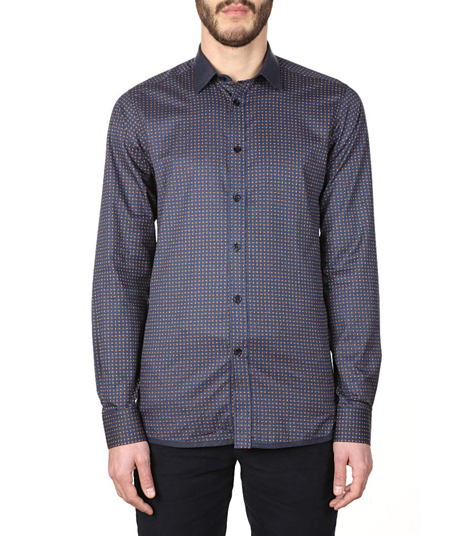 Shirt Jaroslaw 02 - Blue pattern