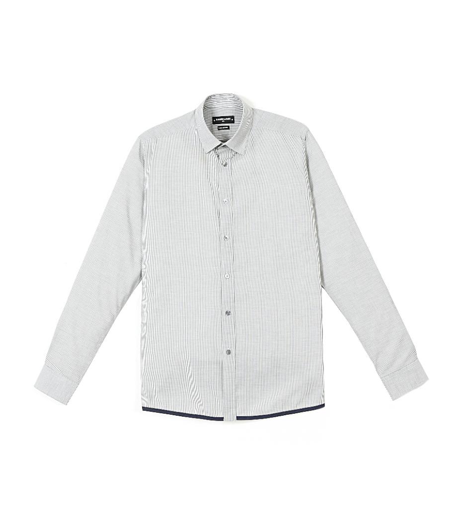 Shirt Jaroslaw 02 - Grey stripes