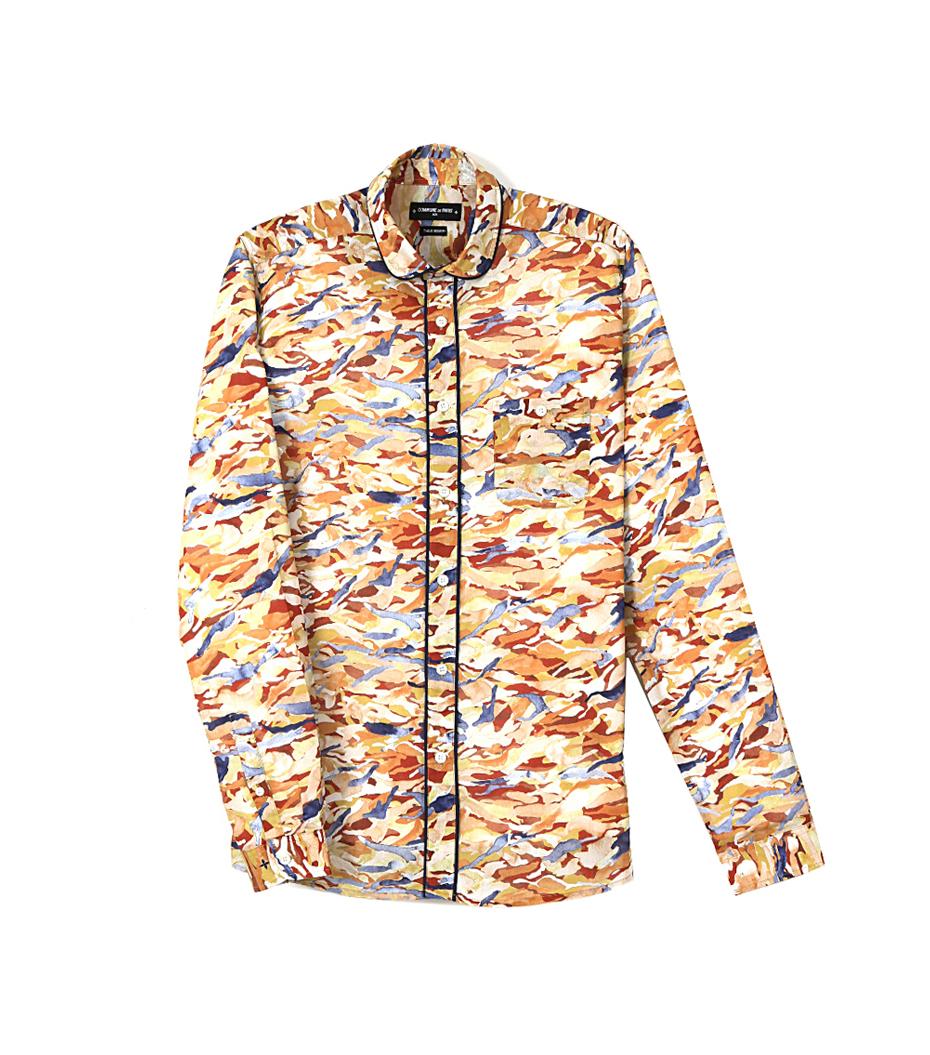 Shirt Ritta - Camo ocre