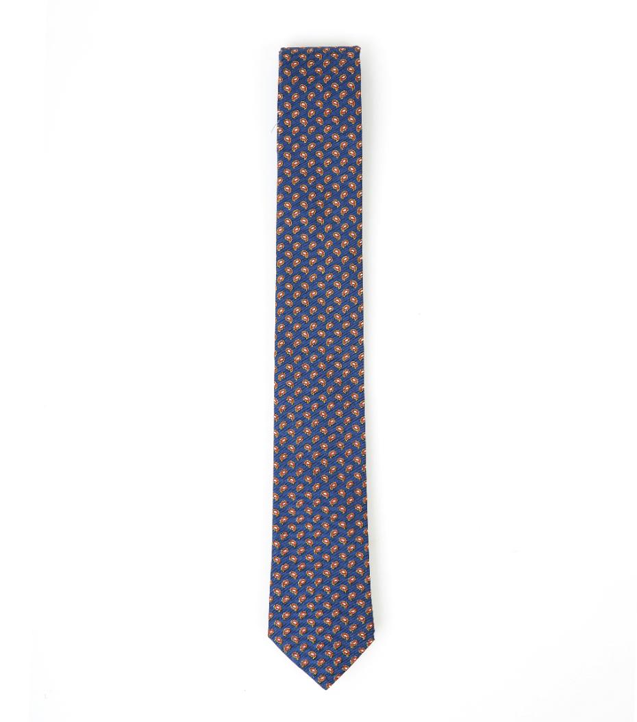 Tie CDP - Blue pattern
