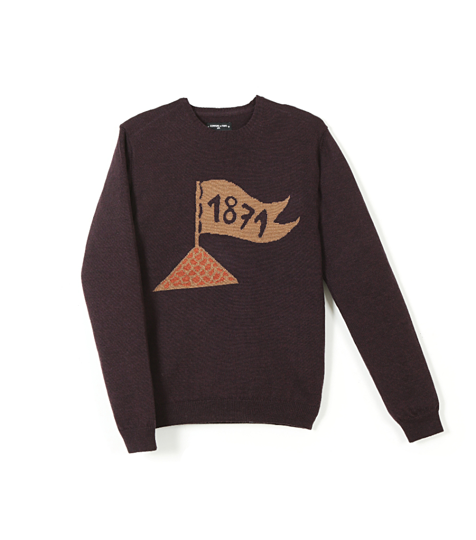 Sweater Bastion - Purple