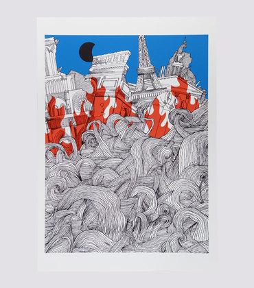 Poster Munchausen 1