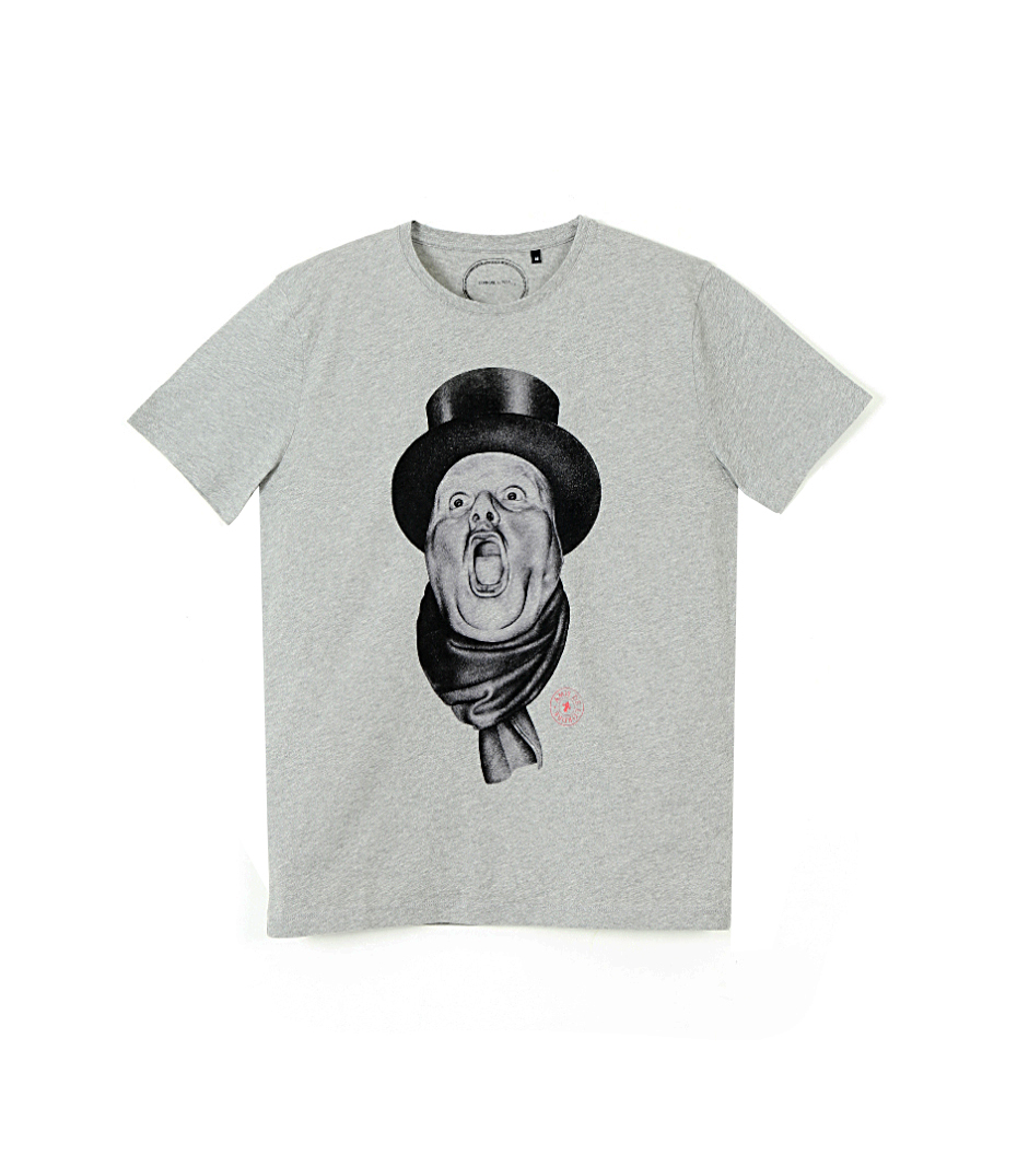 Tee-shirt Bourgeois - Marl grey