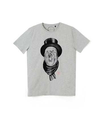Tee-shirt Bourgeois - Marl grey