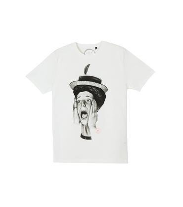 Tee-shirt Bourgeoise - Offwhite