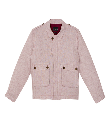 Jacket Boris - Red stripes