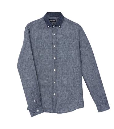 Shirt David - Blue