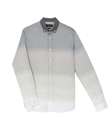Shirt David 03 - Grey shades