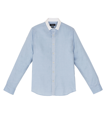 Shirt Flourens - Blue