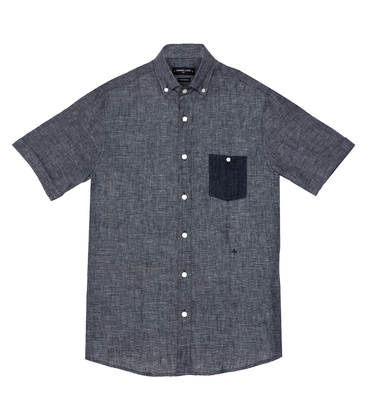 Shirt Moussu - Blue