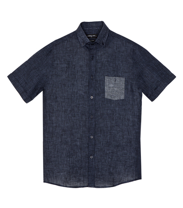 Shirt Moussu - Navy