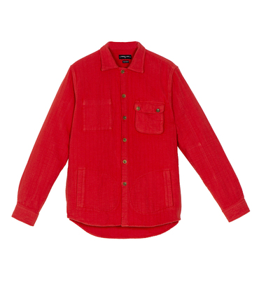 Overshirt Simon - Red