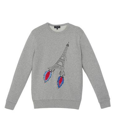 Sweater Fusée - Marl grey