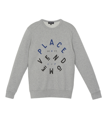 Sweater Vendôme - Marl grey