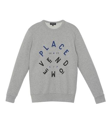 Sweater Vendôme - Marl grey