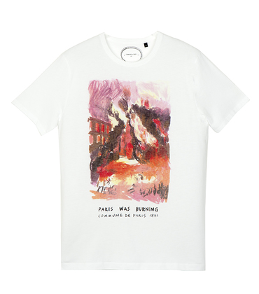 Tee-shirt Burning - White