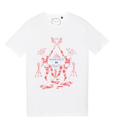 Tee-shirt Guillotine - White