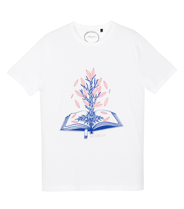 Tee-shirt Livre - White