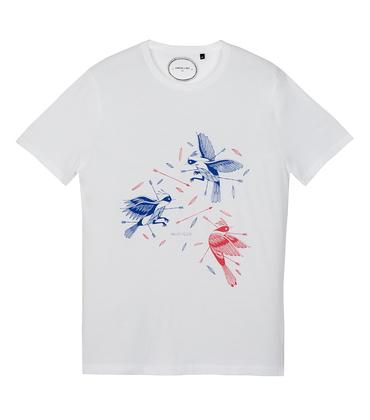 Tee-shirt Oiseaux - White