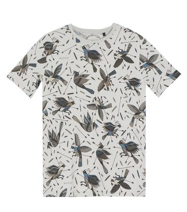 Tee-shirt Oiseaux All - Medium grey