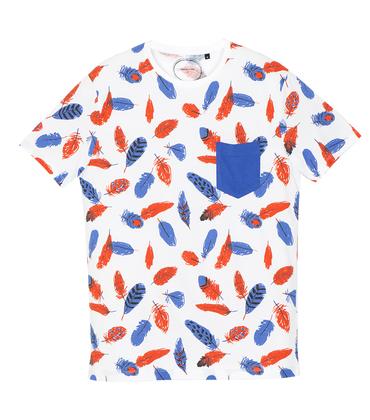 Tee-shirt Plumes - White