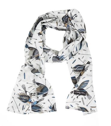 Pattern scarf Birds