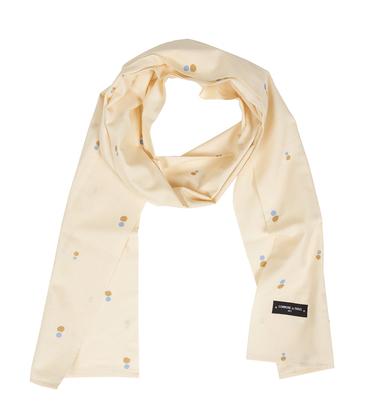 Pattern scarf Dots