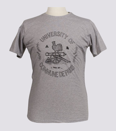 Tee-shirt University - Marl grey