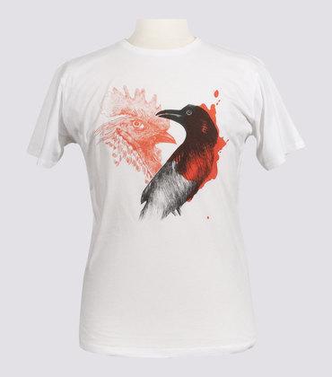 Tee-shirt Cocrow - White