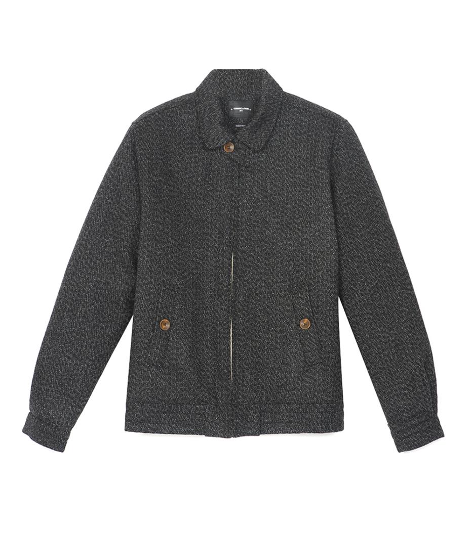 Jacket Achille 02 - Marl black