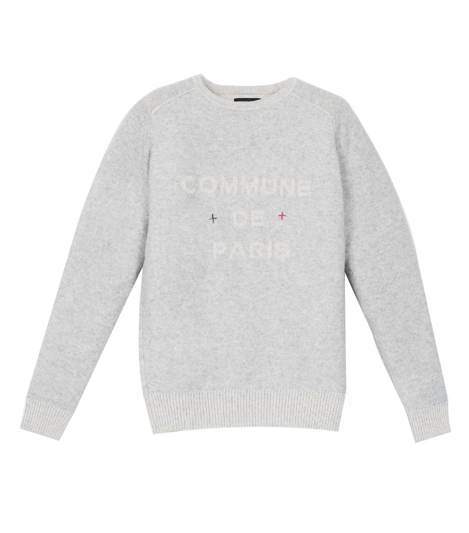Pullover Sauval - Medium grey