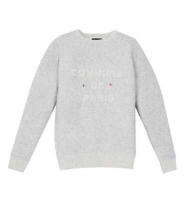 Pullover Sauval - Medium grey