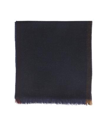 Scarf Merinos - Navy/black