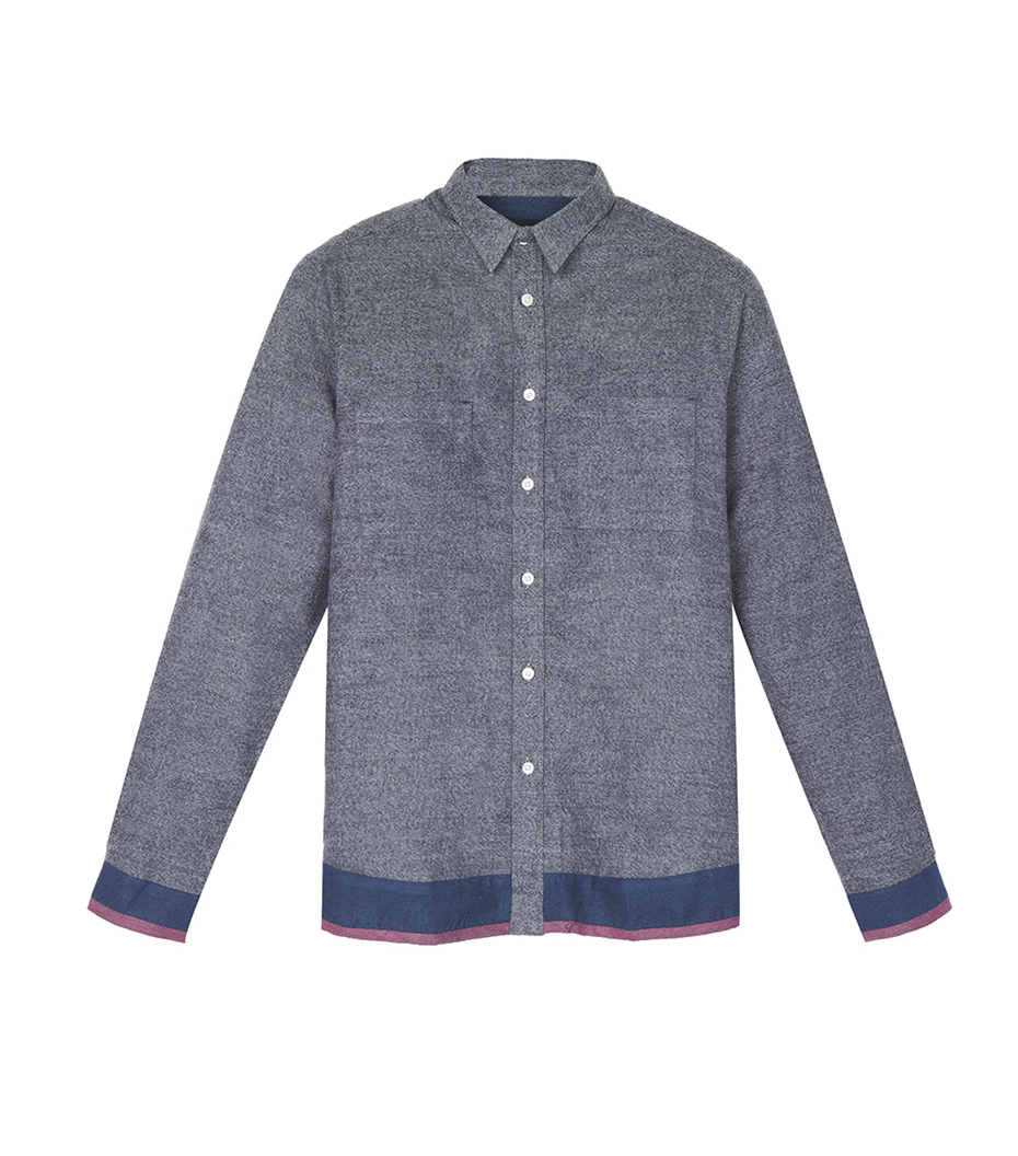 Shirt Caze 02 - Marl grey