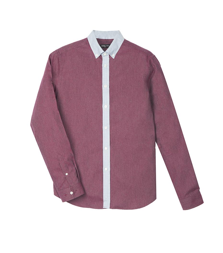 Shirt David 03 - Burgundy