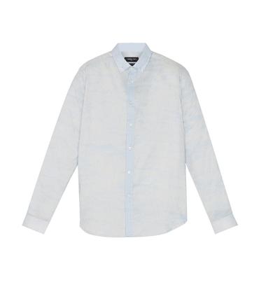 Shirt David 03 - Clouds pattern