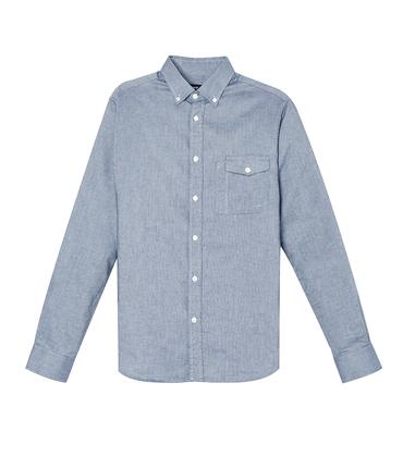 Shirt Gambon - Marl blue