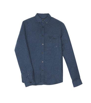 Shirt Gambon - Marl navy