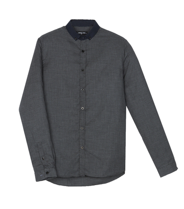 Shirt Menand - Grey h-tooth