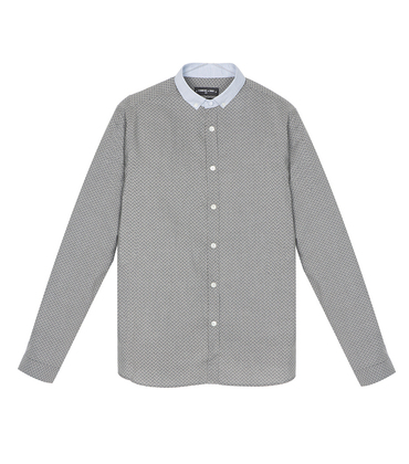 Shirt Menand - Grey pattern