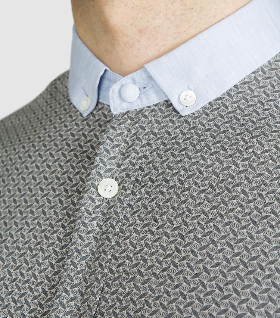 Shirt Menand - Grey pattern