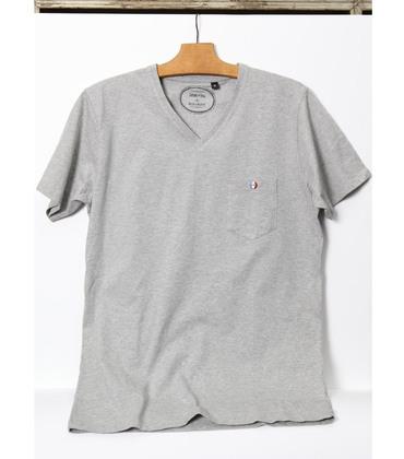Tee-shirt Villatte - Marl grey