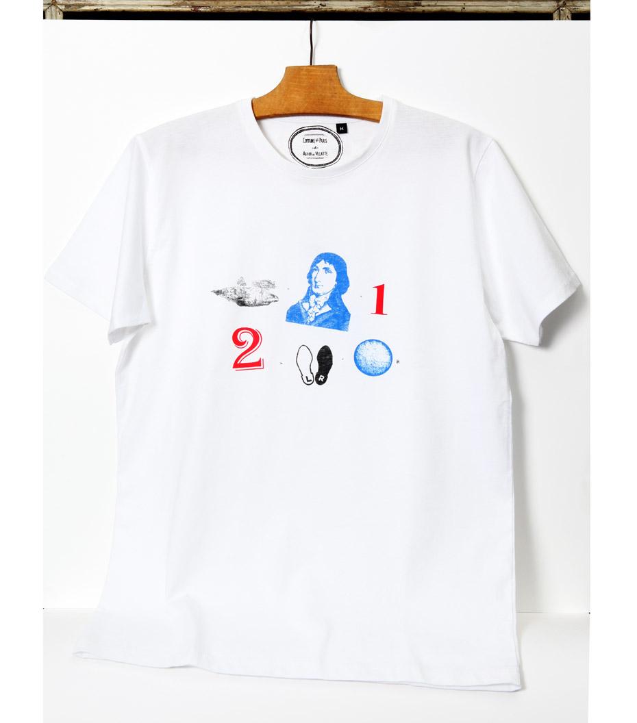 Tee-shirt Rebus - Blanc
