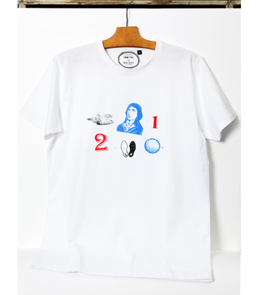 Tee-shirt Rebus - White