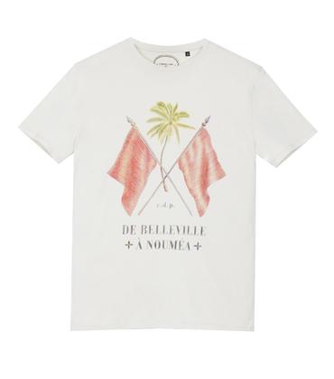 Tee-shirt Belleville - Offwhite