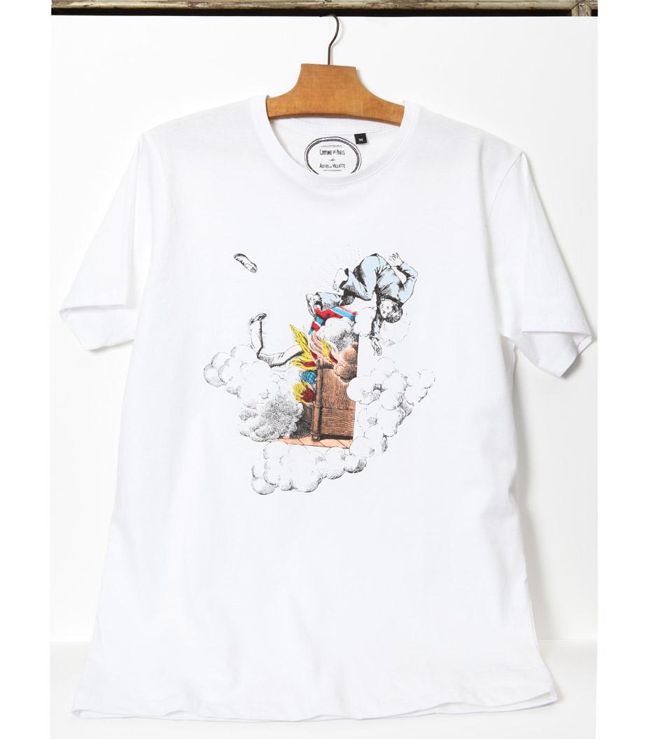 Tee-shirt Réveil - Blanc