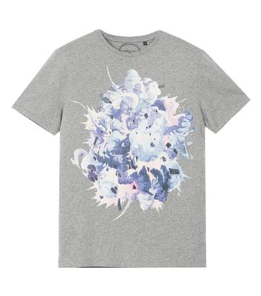 Tee-shirt Explosion - Marl grey