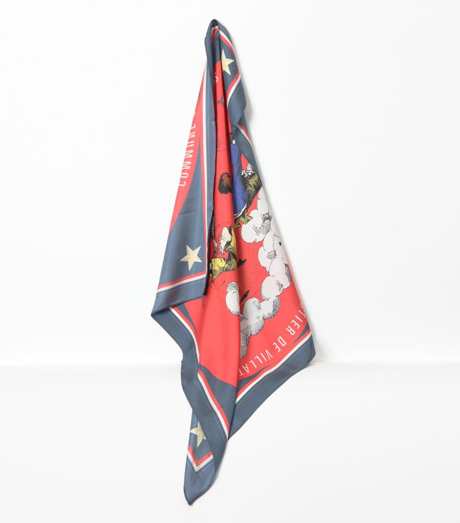 Silk scarf A.D.V