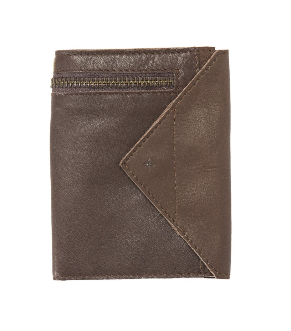 Wallet Avril - Dark brown