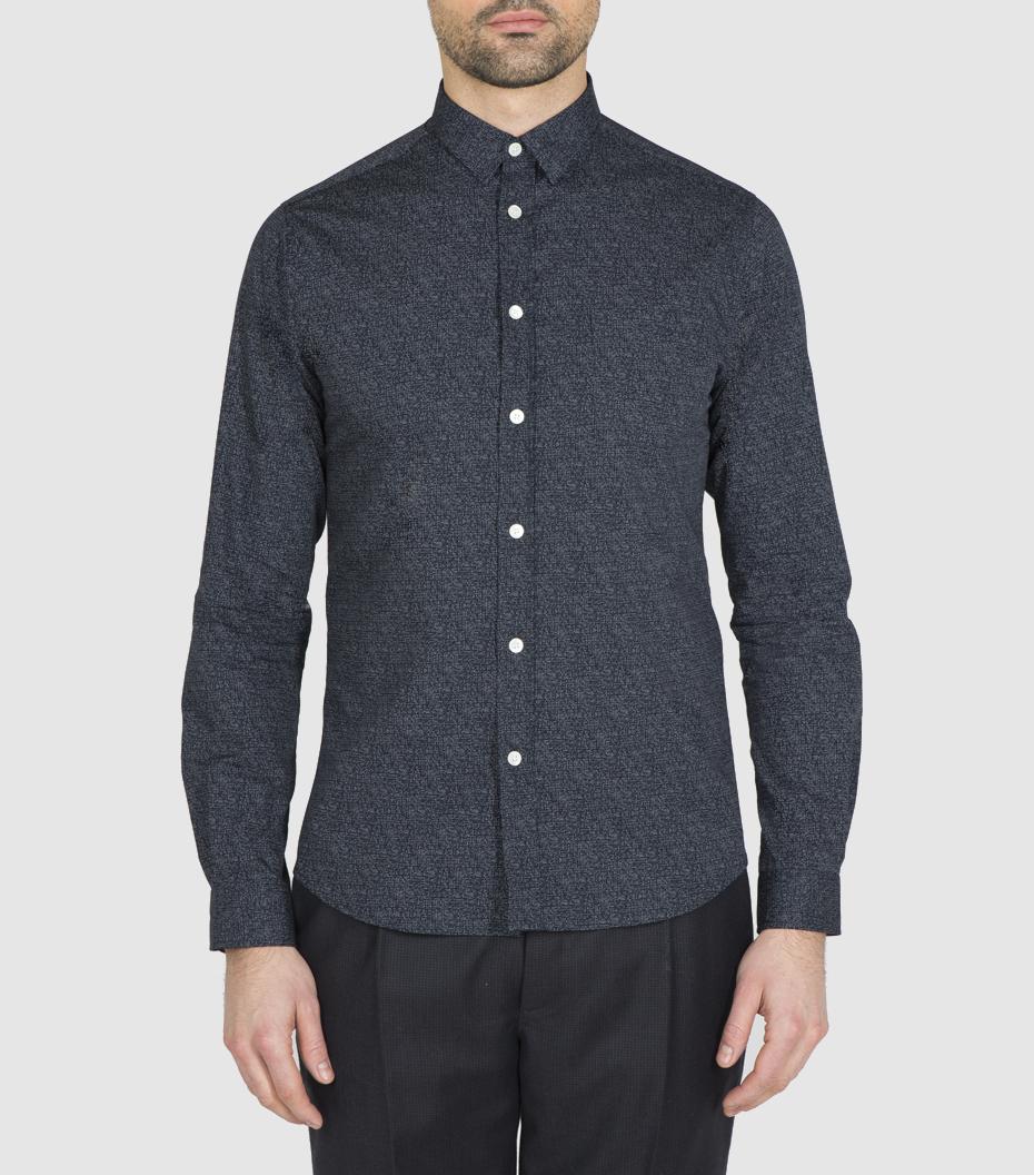Shirt Rossel 02 - Black pattern